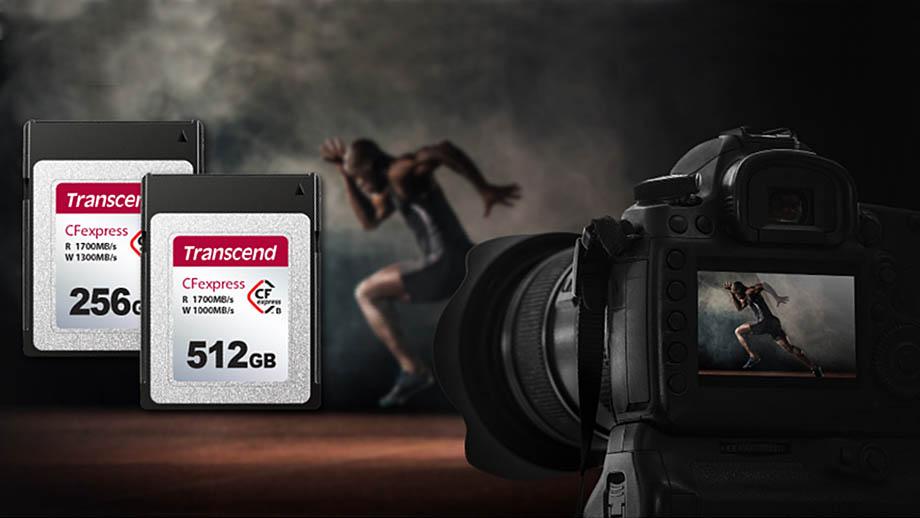 Transcend представила новые карты памяти CFexpress Type B