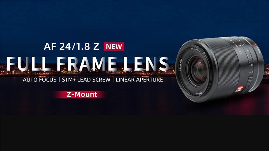 Viltrox 24mm F1.8 AF для Nikon Z представят 15 августа