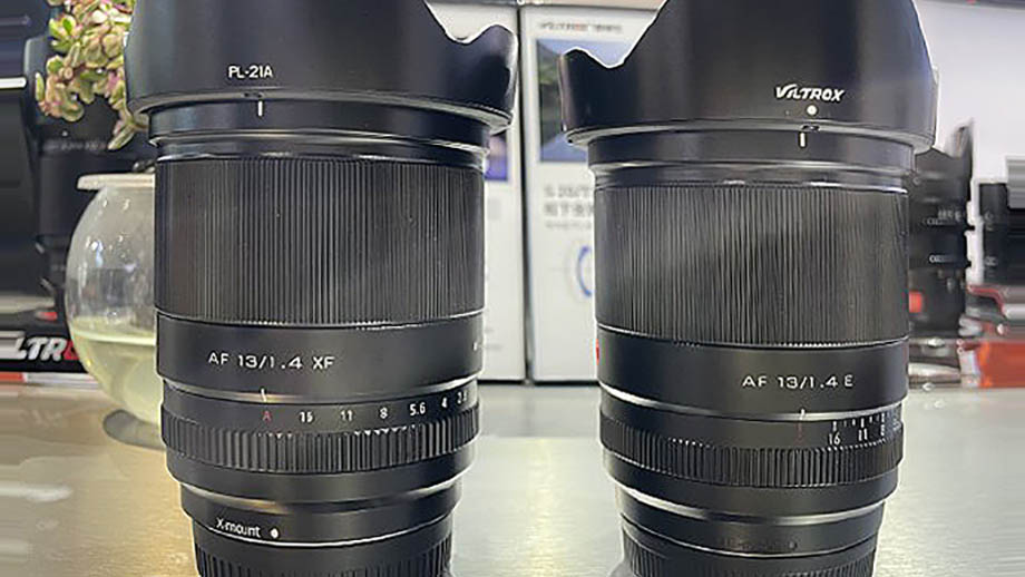 Фотографии объектива Viltrox AF 13mm F1.4 для Sony и Fuji
