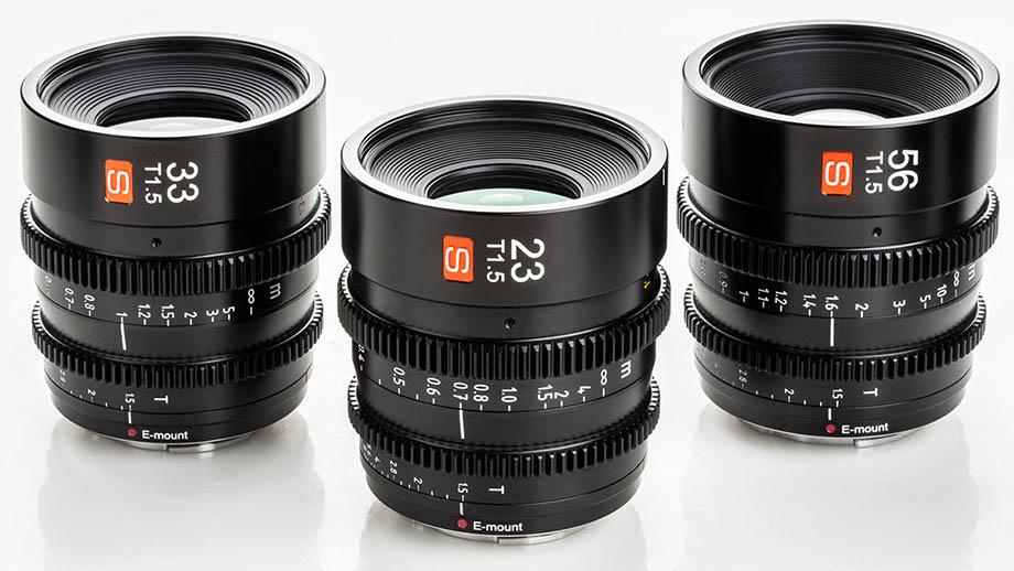 Представлены объективы Viltrox Cinema 23, 33 и 56mm по $390