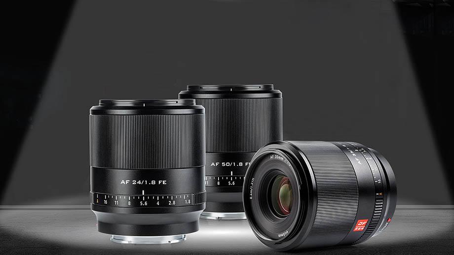 Представлены объективы Viltrox 24mm, 35mm и 50mm для Sony FE