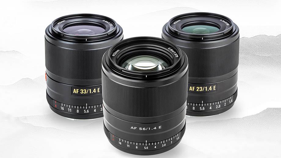 Объективы Viltrox 33mm f/1.4 E и 56mm f/1.4 E для Sony E представят 25 ноября