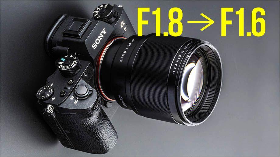 Светосилу VILTROX 85mm F1.8 увеличили до F1.6 простым обновлением?