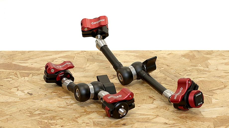 iFootage SpiderCrab  с быстросъёмной площадкой – кронштейны, аналоги Manfrotto Magic Arm