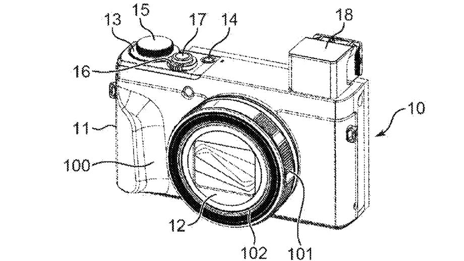 Патент Canon: выдвижной видоискатель увеличит ЖК-дисплей