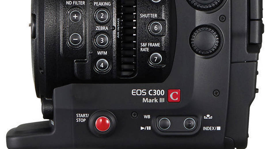 Canon Cinema EOS C300 Mark III появилась в линейке продуктов Canon