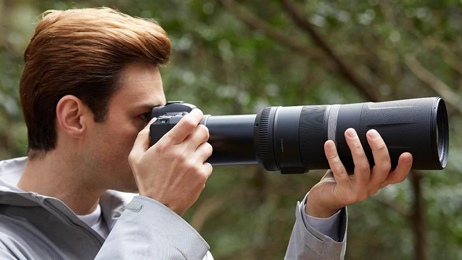 Спецификации новых объективов Canon RF: 85mm f/2, 600mm f/11, 800mm f/11, 100-500mm f/4.5-7.1