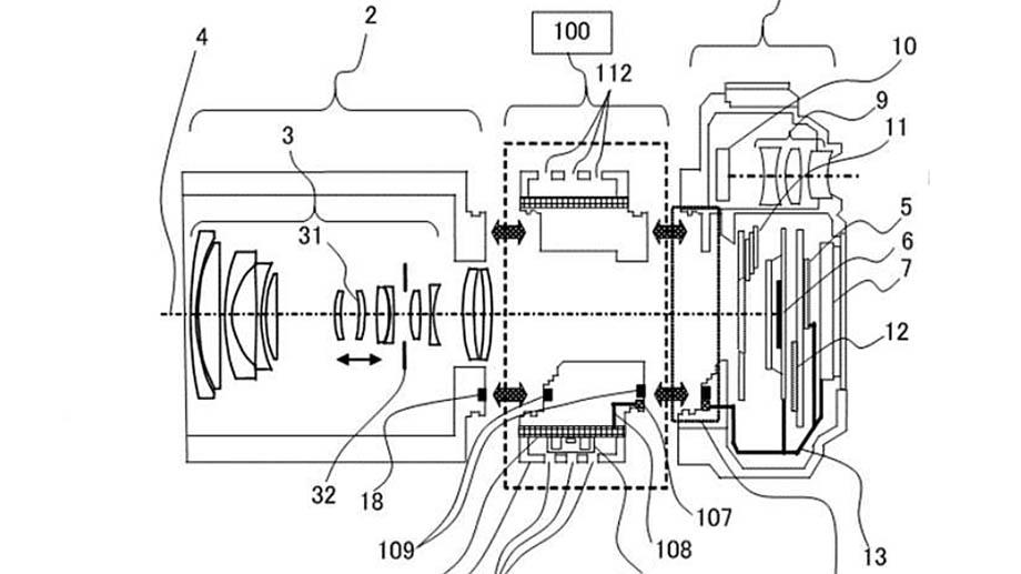 Canon патентует систему активного охлаждения в RF-адаптере
