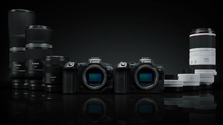 Четыре новых объектива Canon для байонета RF и два телеконвертера