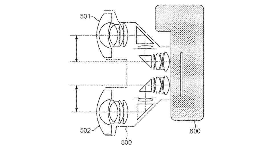 Canon патентует стереоскопический объектив для байонета RF