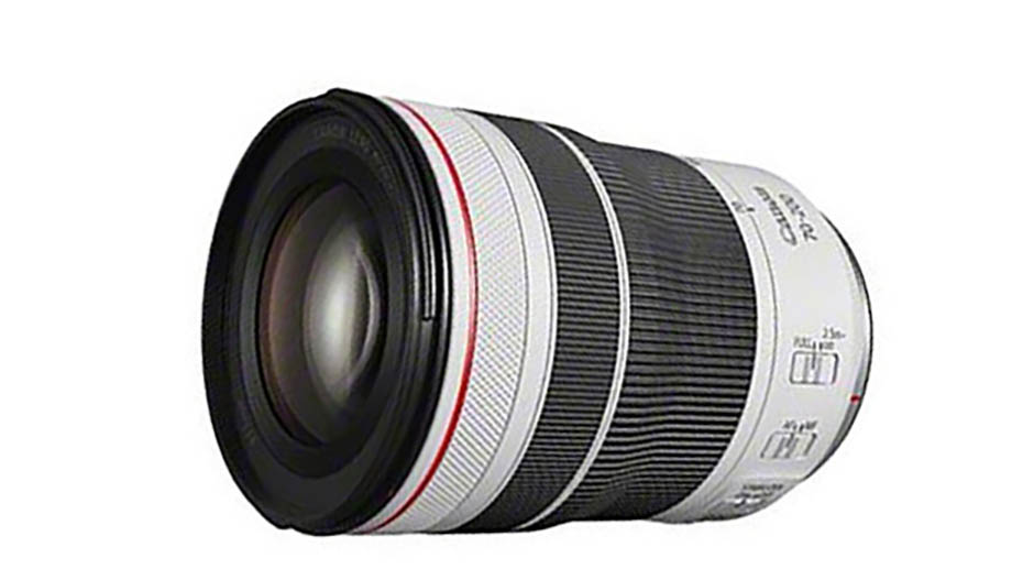 Первые изображения объектива Canon RF 70-200mm f/4 L IS USM