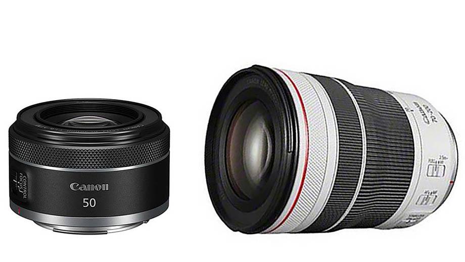 Canon RF 50mm f/1.8 STM будет стоить $199, а RF 70-200mm f/4L IS USM – $1299