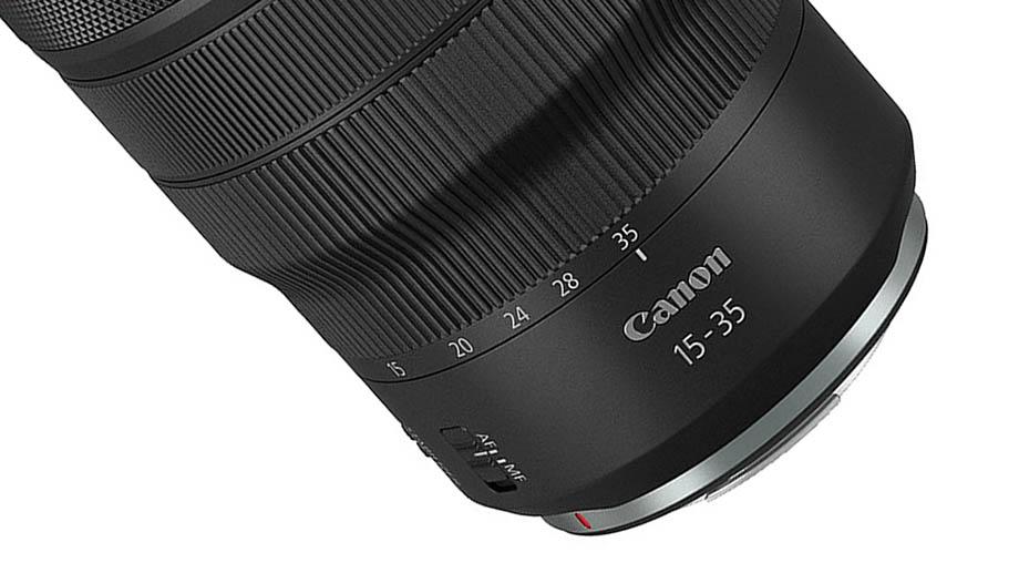 Canon патентует широкоугольный зум RF 15-35mm f/4L