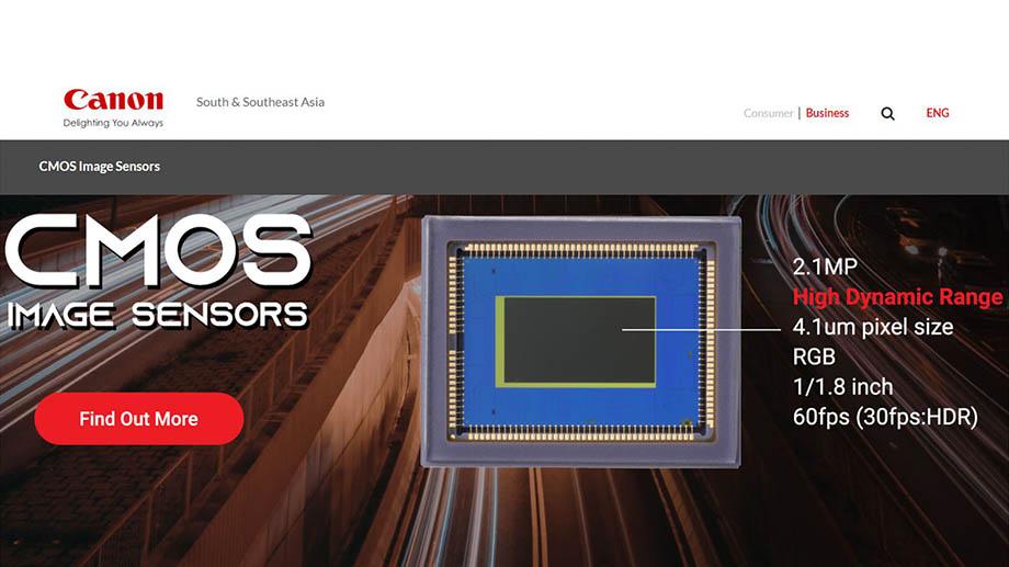 Canon хочет поставлять свои датчики изображения другим производителям