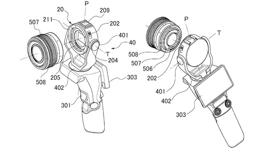 Canon патентует новую камеру для видеоблогеров