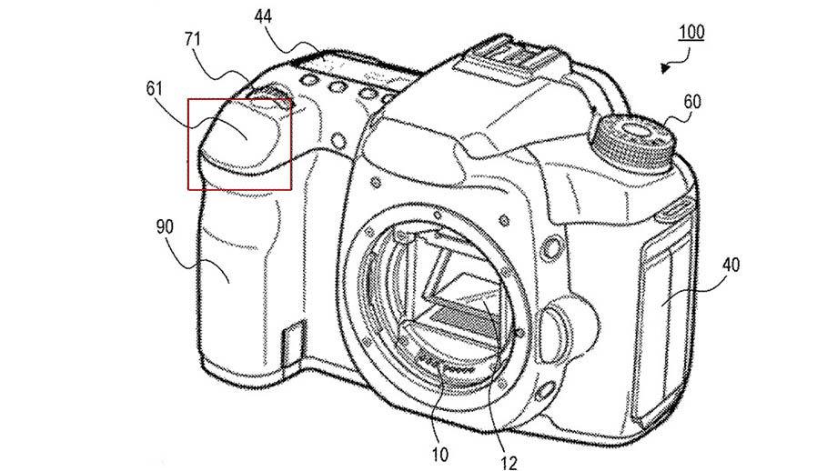 Canon запатентовал многофункциональную сенсорную кнопку спуска затвора
