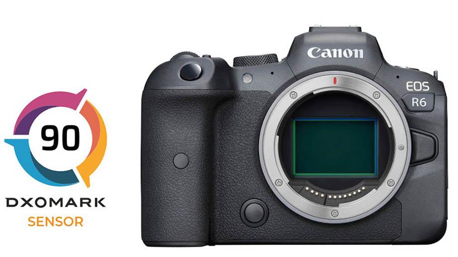 Canon EOS R6 получила 90 баллов в рейтинге DXO Mark