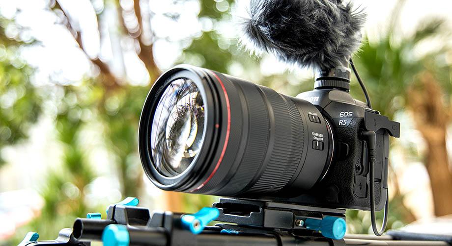 Canon EOS R5 пишет до 4 часов 4K 30p на внешний рекордер без каких-либо перегревов