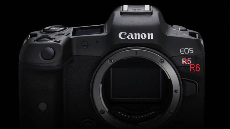 В сети появились спецификации Canon EOS R6