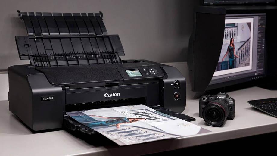 Canon imagePROGRAF PRO-300 – новая версия профессионального фотопринтера