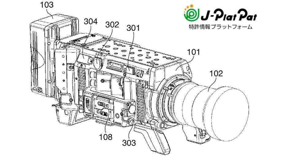 Canon патентует новую камеру серии Cinema