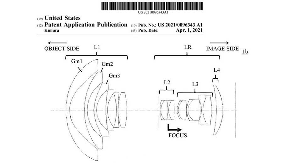 Canon патентует сверхширокоугольные зум-объективы для байонета RF