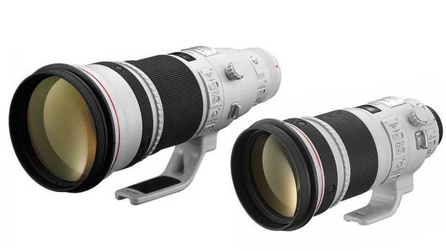 Canon выпустит RF-версии объективов 300mm F2.8 и 500mm F4 в начале 2022 года