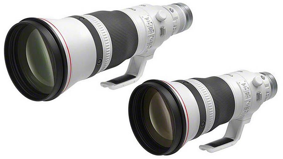 Первые фотографии объективов Canon RF 400mm f2.8L IS USM и RF 600mm F4L IS USM