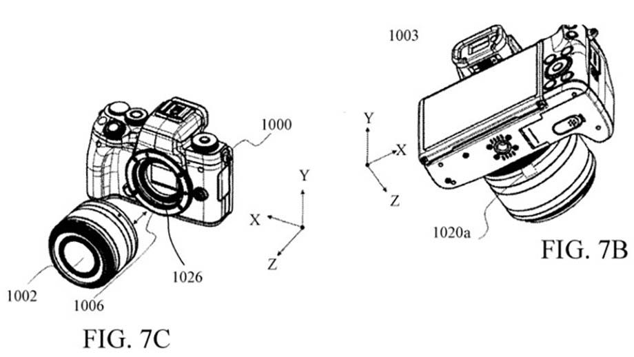 Canon патентует EOS M с IBIS