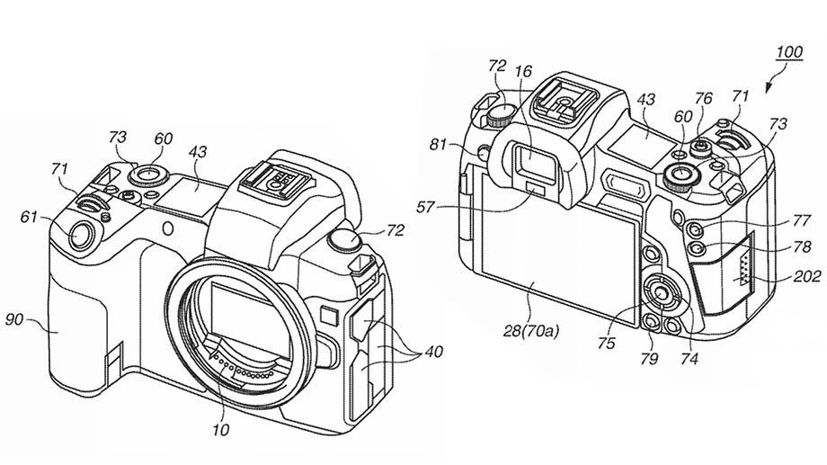 Canon патентует систему выбора точки автофокусировки, управляемой глазом