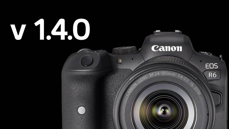 Прошивка v1.4.0 добавит Canon Log 3 для EOS R6