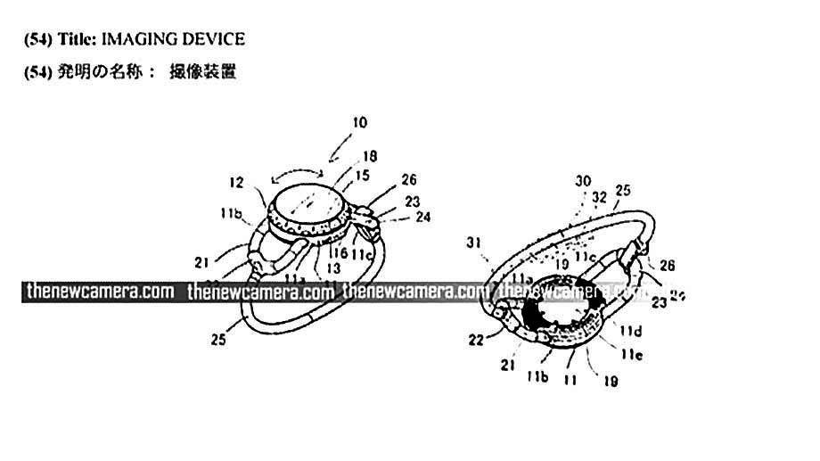 Canon патентует камеру-кольцо?