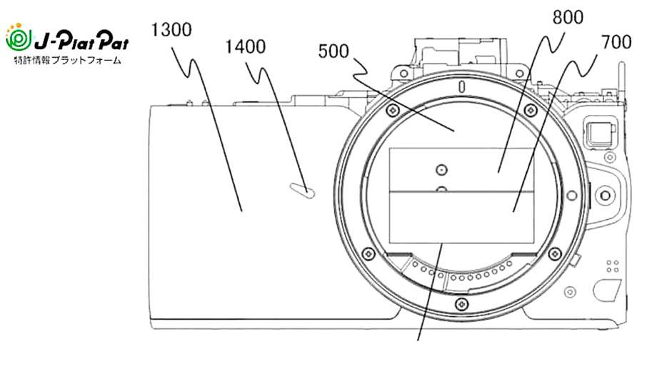 Canon патентует компактный затвор для маленькой беззеркальной камеры с RF-mount