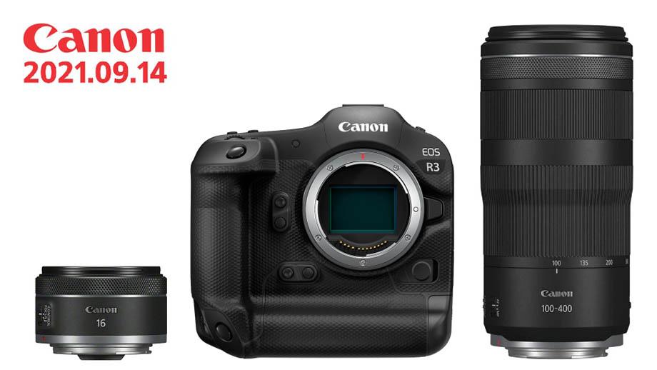 Canon EOS R3 обойдется в $6000, другие цены новинок 14 сентября
