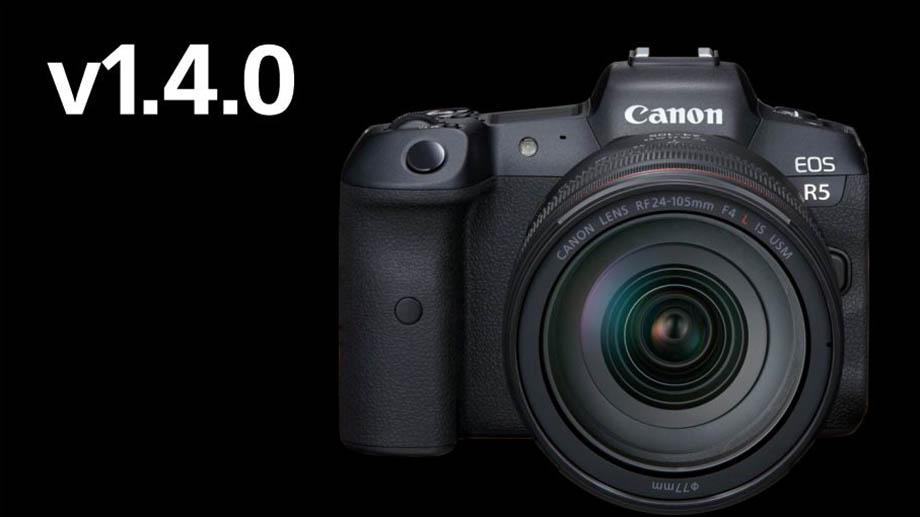 Canon выпустил прошивку 1.4.0 для EOS R5