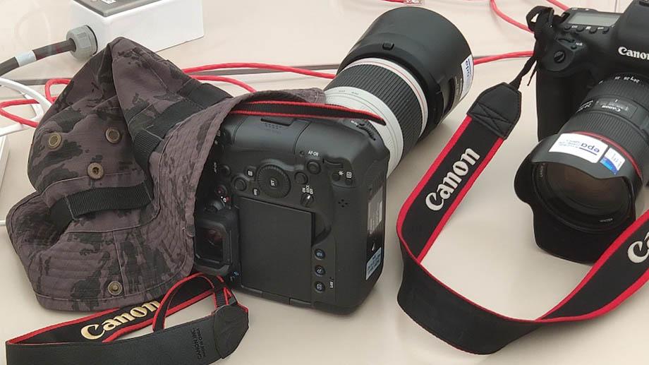 Камера Canon EOS R3 замечена на Олимпиаде в Токио