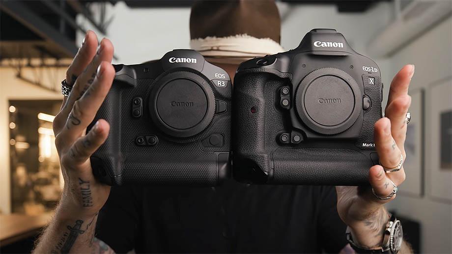 Появились первые видеоролики с Canon EOS R3