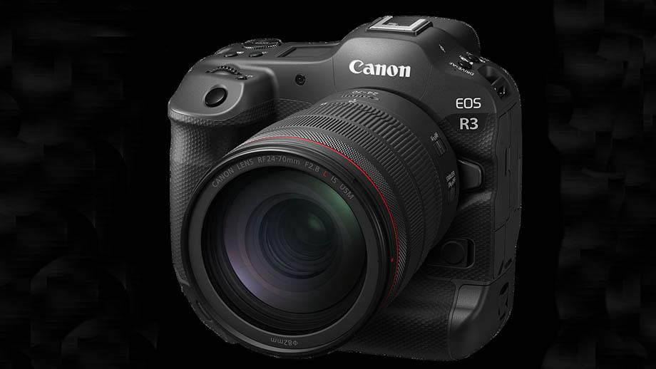 Canon EOS R3 будет снимать без задержек и затемнений