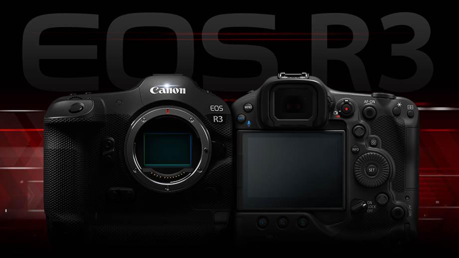 Новые характеристики Canon EOS R3
