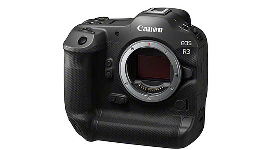 Первые изображения Canon EOS R3