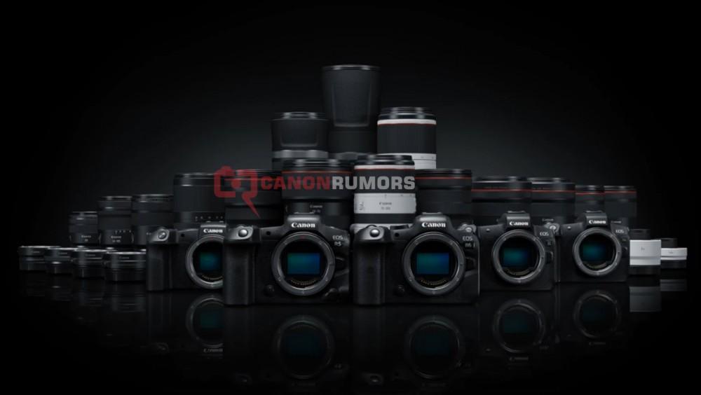 Canon вместе с новыми камерами представит 9 июля и кучу новой RF-оптики!