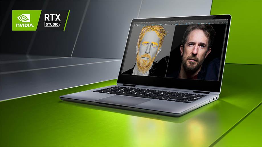Линейка ноутбуков RTX Studio с графическими ускорителями от NVIDIA