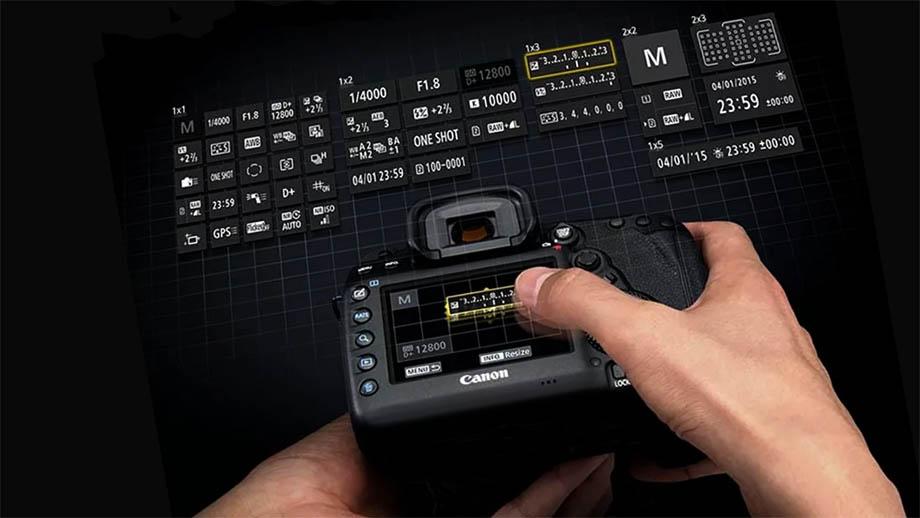 В новых камерах Canon может появиться новое меню