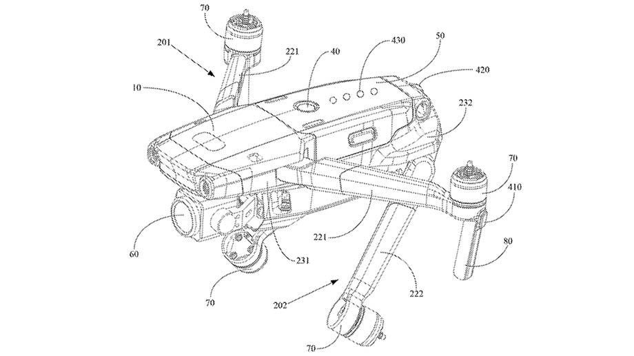 DJI патентует Mavic 3?