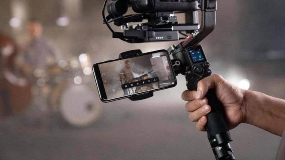 Фотографии и цена стабилизатора DJI Ronin RS 2