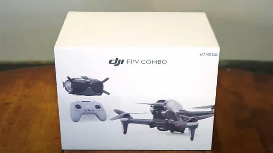 Первый видеоролик с новым дроном DJI FPV появился в сети
