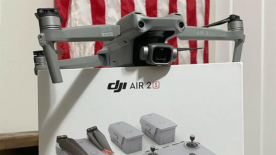 Фотографии DJI Air 2S до официальной презентации