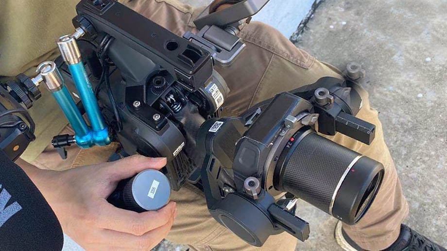 DJI OSMO Pro: камера, стедикам, монитор…