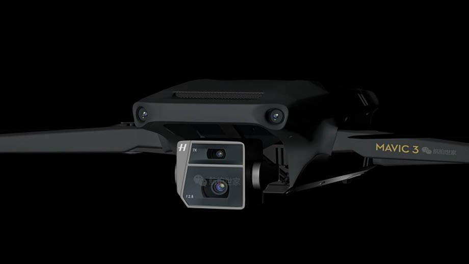 DJI Mavic 3 получил двойной модуль камер Hasselblad