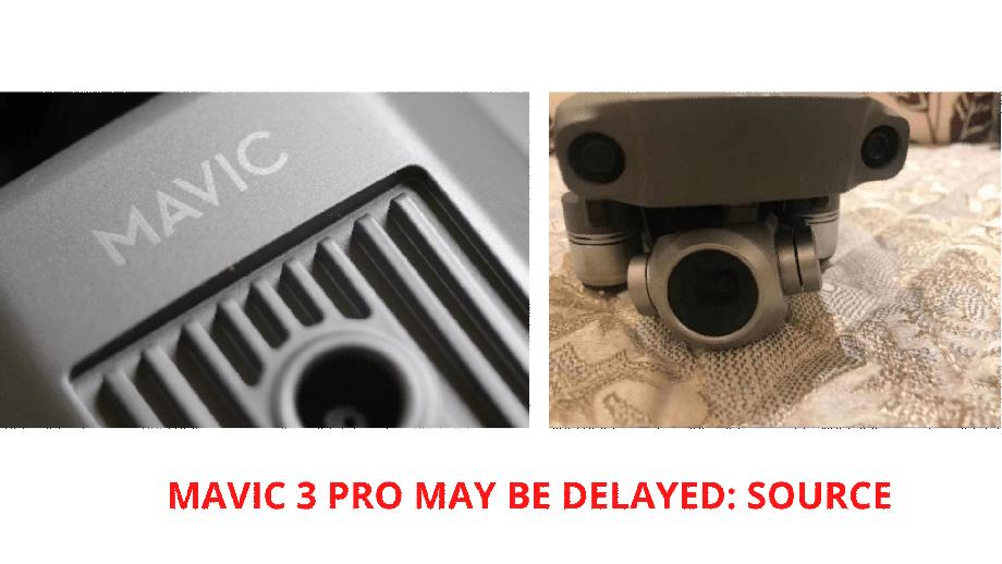 DJI Mavic 3 Pro с дюймовым сенсором сможет снимать 8K